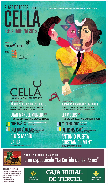 PRESENTACIÓN FERIA TAURINA DE CELLA 2015